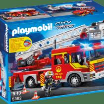 Camión de bomberos con luces y sonido. Ref.: 5362