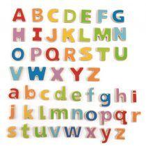 ABC Letras magnéticas de madera