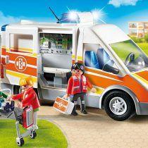 Ambulancia con luces y sonido. Ref: 6685