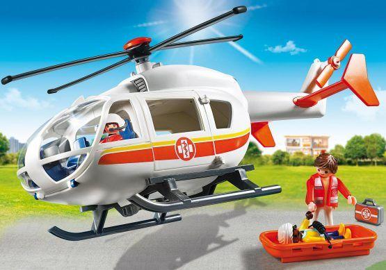 Helicóptero médico de mergencia. Ref.: 6686