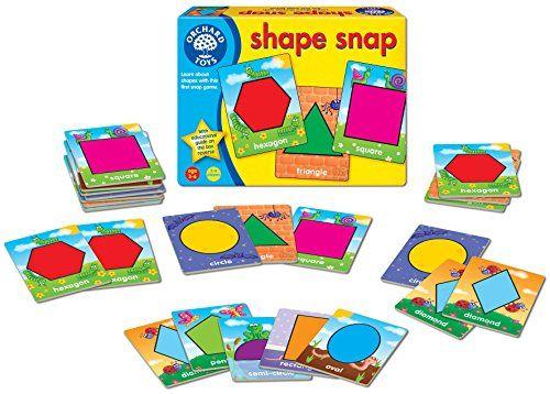 Juego formas y colores – Shape snap (en Inglés)