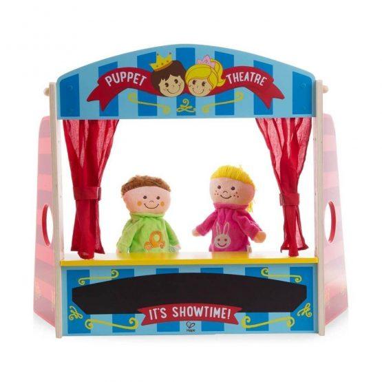 Teatro marionetas, de madera
