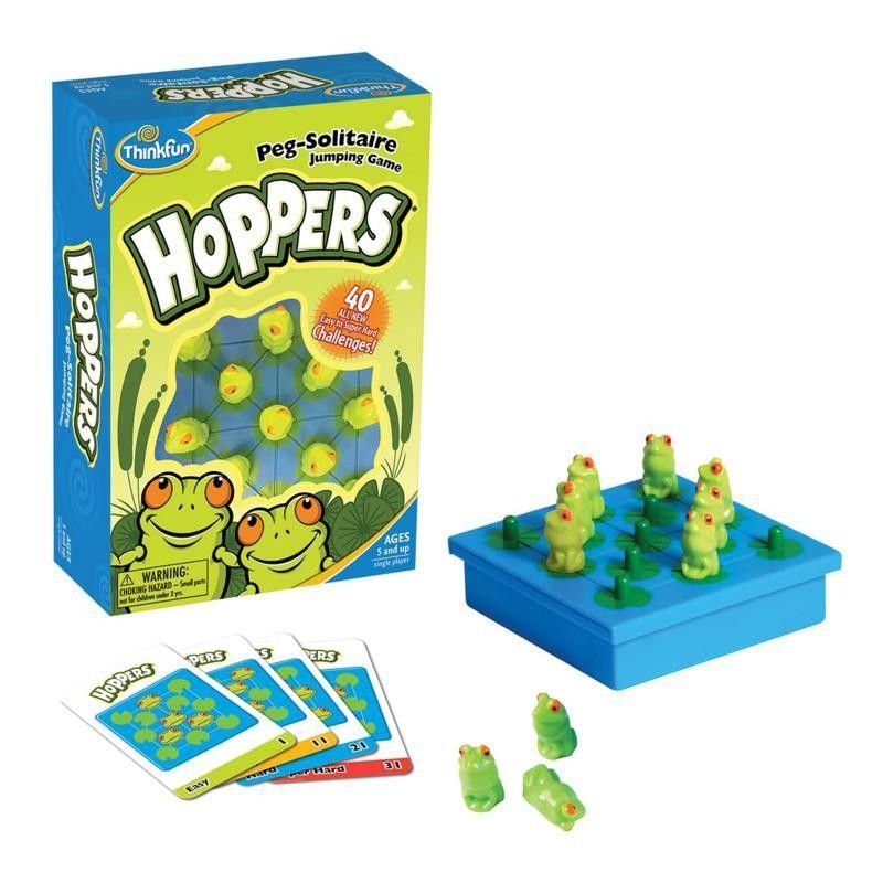 Hoppers Peg - Juego de lógica ranitas