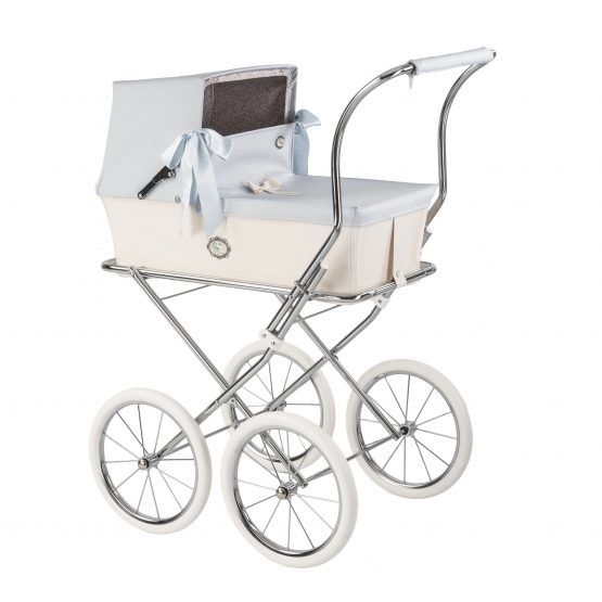 Carro muñecas BEBELUX modelo SWEET Azul bebé