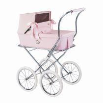 Carro muñecas BEBELUX modelo SWEET rosa bebé