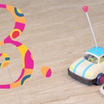 Coche teledirigido para bebés Rally Ripster