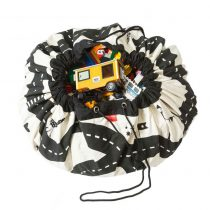 PLAY & GO Manta de juegos-Saco recogetodo Modelo Carreteras