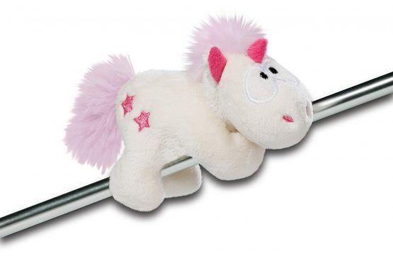 Peluche unicornio 12 cm Theodor con imán