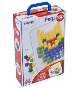 Maletín Pegs 160 piezas