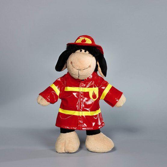 Peluche oveja bombero