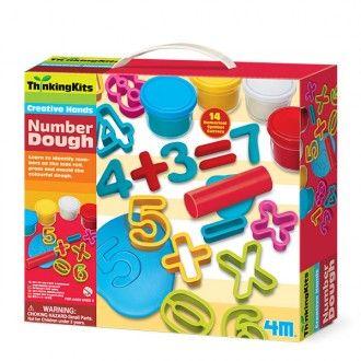 Plastilina números Thinking Kits
