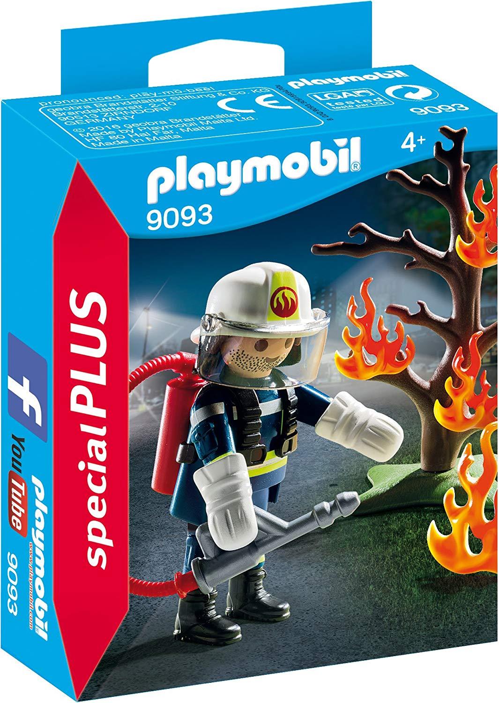 Bombero con árbol en llamas Ref. 9093