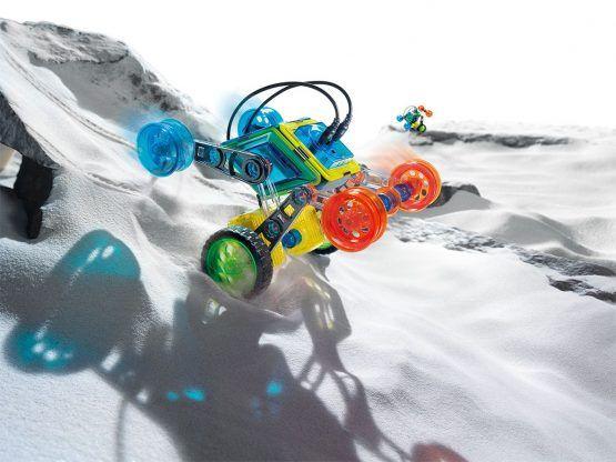 FLIP BOT – Construye tu robot motorizado con piezas magnéticas
