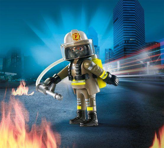 Bombero con extintor Playmobil Ref. 9336