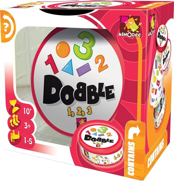 DOBBLE 1, 2, 3 Formas y Números