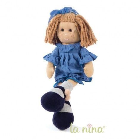 Marta vestido azul
