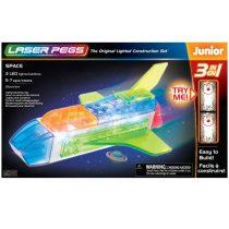 Nave espacial (3 en 1) 21 piezas LaserPegs