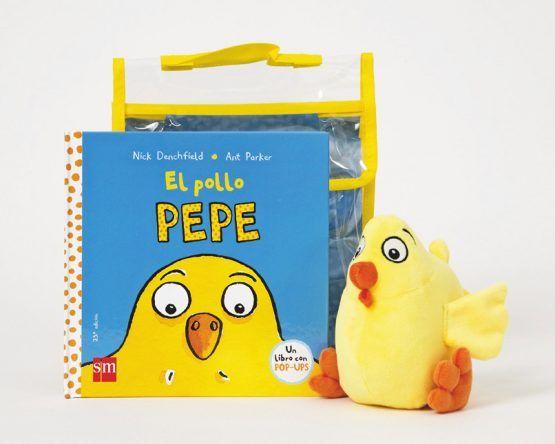 Libro «El pollo Pepe» – Con peluche