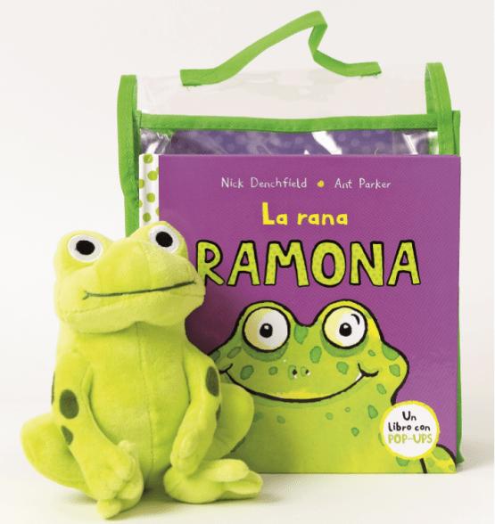 Libro «La rana Ramona» – Con peluche