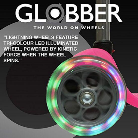 Set de 2 ruedas Delanteras Luminosas – Patinete Globber